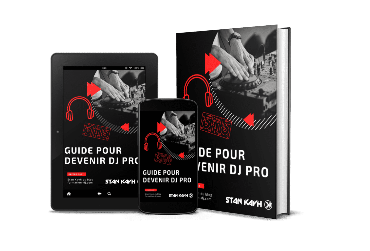 Stan Kayh Guide Devenir DJ Pro Cover